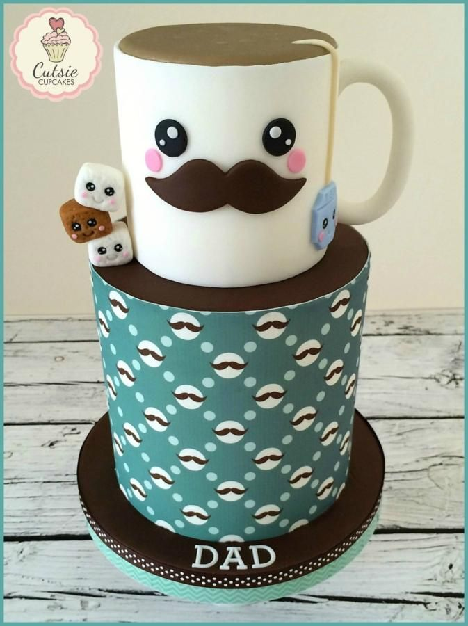 Cake Designs For Father S Day : 25+ best ideas about Fathers Day Cake on Pinterest ...
