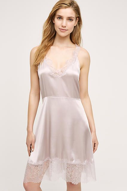 Eloise Laced Silk Chemise