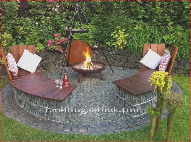32 Das Beste Von Feuerstelle Im Garten Gestalten Ideen Grillplatz Im Garten Feuerstelle Garten Garten