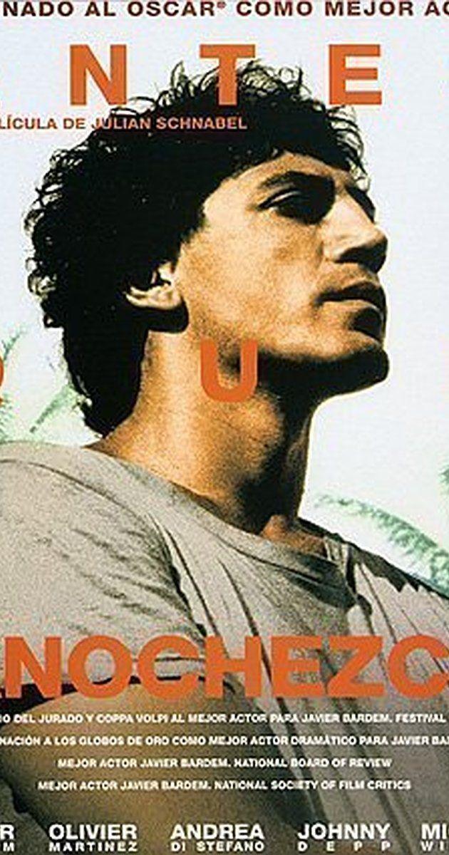 Directed by Julian Schnabel.  With Javier Bardem, Johnny epp, Olatz López Garmendia, Giovanni Florido.