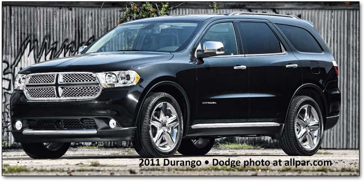 Dodge Durango looks pretty cool!