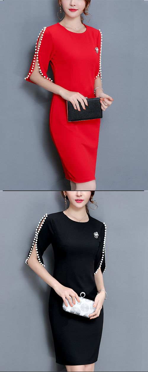 Women's Going out Plus Size Street chic Bodycon Dress