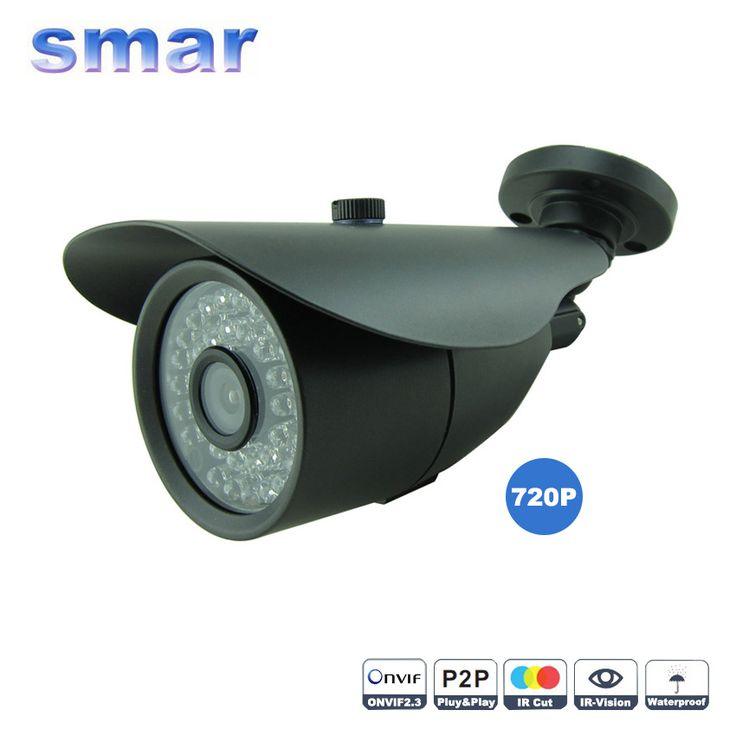 response wired colour dome camera cctv kit 720p