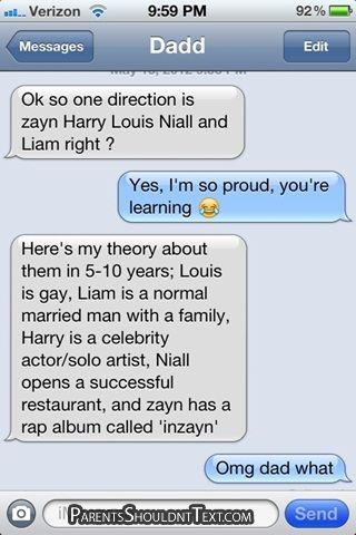 12 Funniest 'Parents Shouldn't Text' Messages of 2012