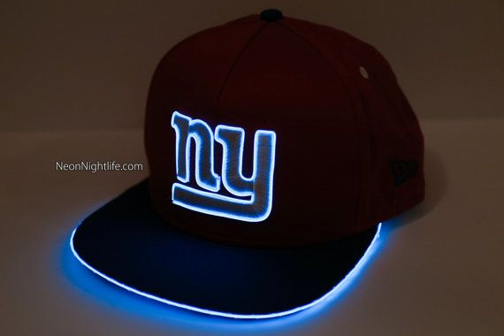 Rock this glowing snap back hat at a club, bar, party, concert, or rave. Like us on Facebook - http://www.facebook.com/NeonNightlife Its the