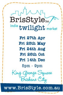 Love this market in Brisbane's King George Square - Brisbane Craft Art Markets brisStyle designers Etsy Handmade