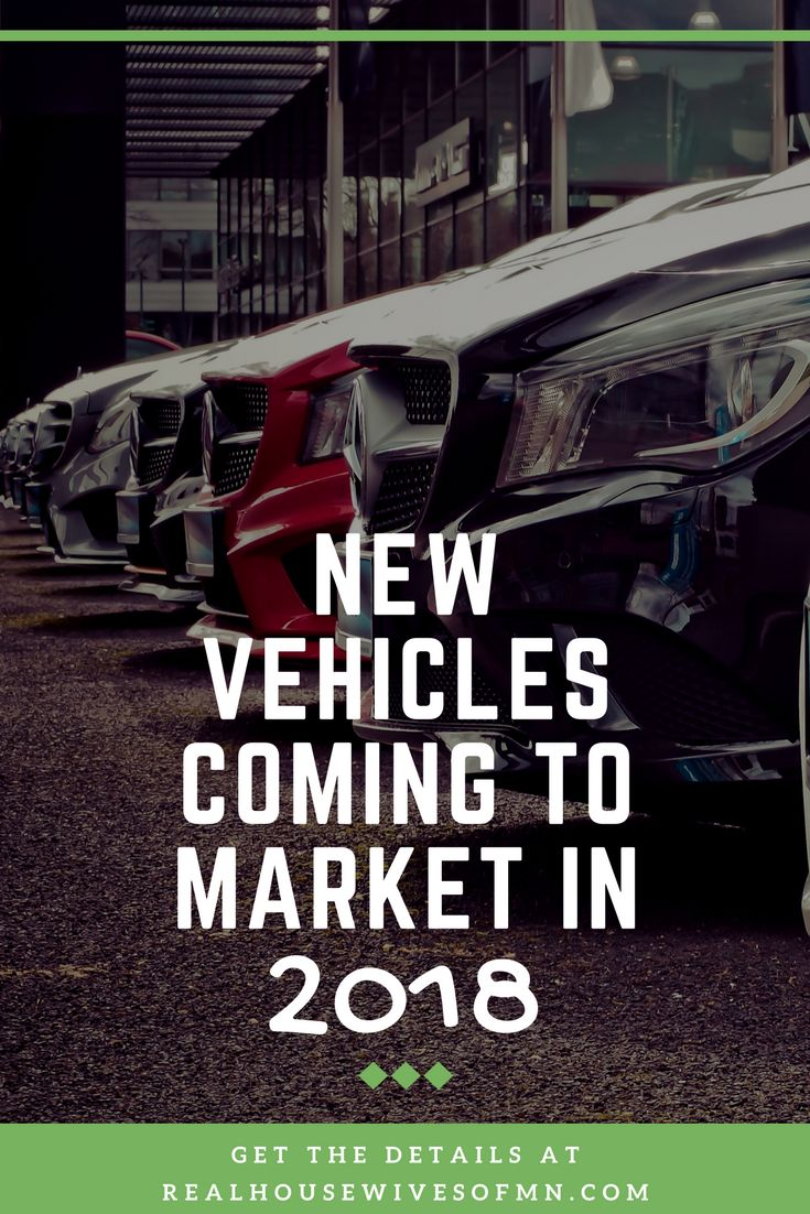 New vehicles that are coming to market in 2018! These are brand new models that have never been seen before. I'm loving the new Toyota SUV! #ad