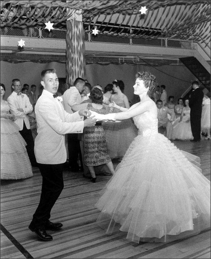 Prom at Creston Iowa High School, 1958 Francis Miller