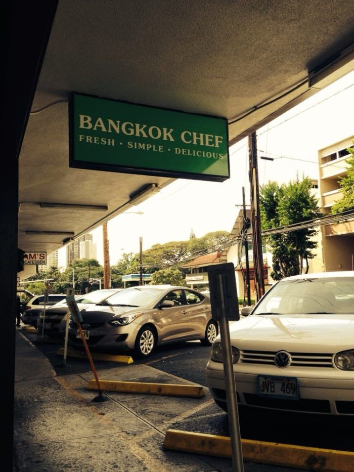 4. Bangkok Chef