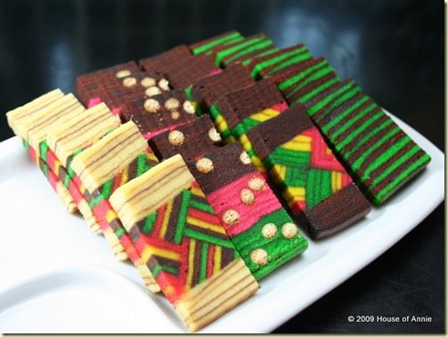 Indonesian Layered Cake! Such intricate details - all separate cake layers!