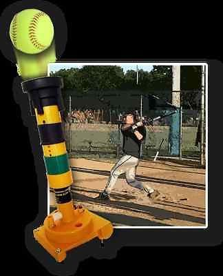 Pop Toss Pitching Machine Gift Flex Tee For Baseball Fastpitch Softball Players
