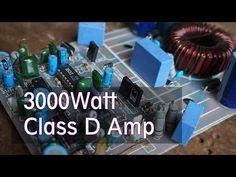 3000 Watts Power Amplifier Class D Mosfet IRFP260 ...