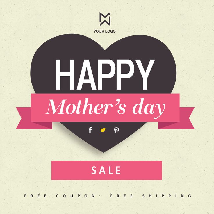 Wish a happy day to all the mothers with this #banners #promo #design