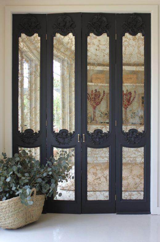 disc interiors ideas closet doors antique mirror inspiration closets ...