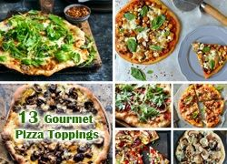 13 of our Favourite Gourmet Pizza Toppings