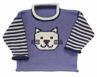 Kitty Pullover pattern by Gail Pfeifle, Roo Designs