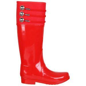 Hunter Women's Regent Earlton Wellington Boots - Pillar Box Red: Image 21 I LOVE LOVE LOVE these Wellies.