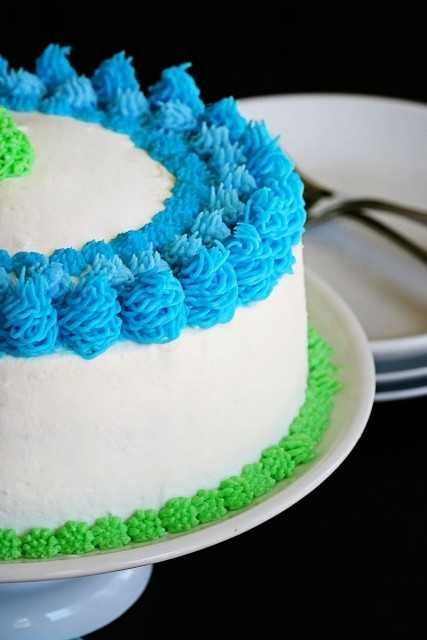 icing techniques for wedding cakes cool frosting technique using only grass tip cake 16275