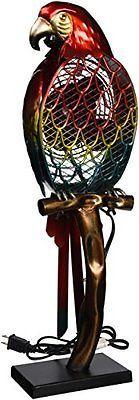 DecoBreeze DBF0788 Parrot Figurine Fan Small