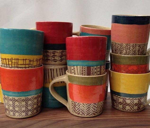 Gorgeous ceramics by Cathy Terepocki