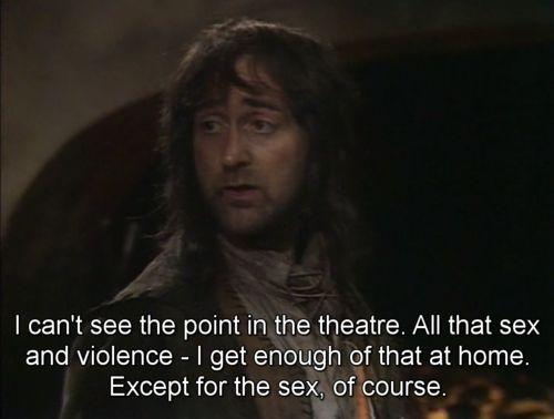 Oh Baldrick. Blackadder 3