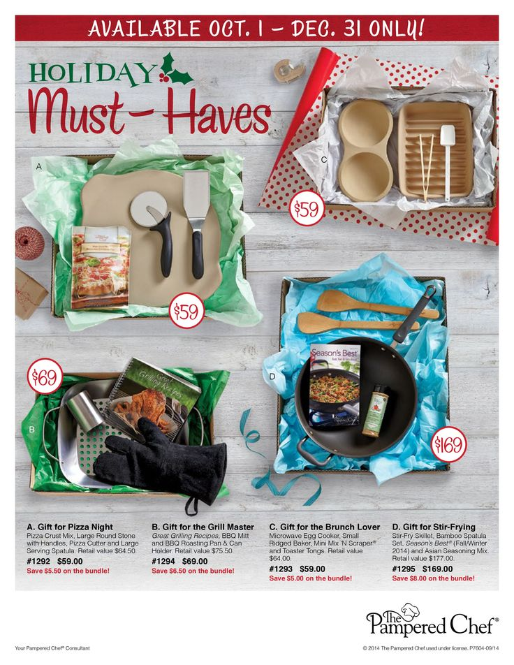 grab your holiday favorites for christmas wwwpamperedchefbizjocelyngomes awesome giftspampered chef - Best Gift For A Chef