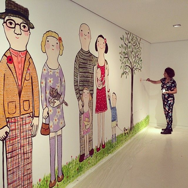 Working in a wonderful project. Kids Museum. #evaarmisen #artmuseum #happy # #Padgram
