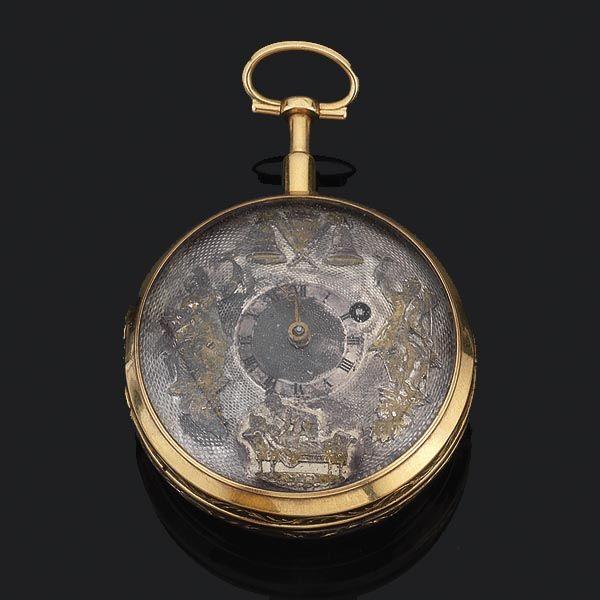 Reloj autómata erótico - Subastas Segre