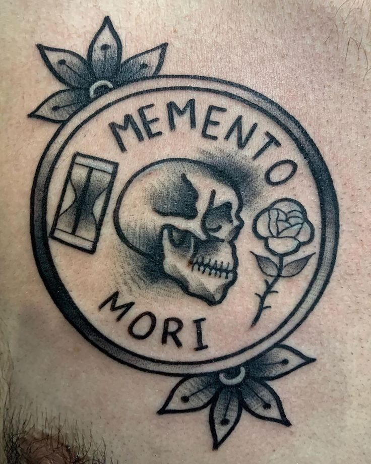 Memento mori by kong_tattoo for enquiry and appointment
