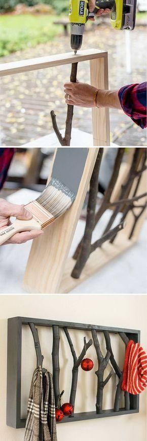 10 unglaubliche DIY-Regalideen # Holzkisten # Rohre # Möbel # Weinkisten # Zuhause #WoodWorking – wood projects