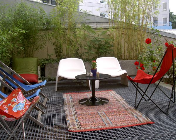D co terrasse appartement mobilier jardin pinterest for Deco mobilier jardin