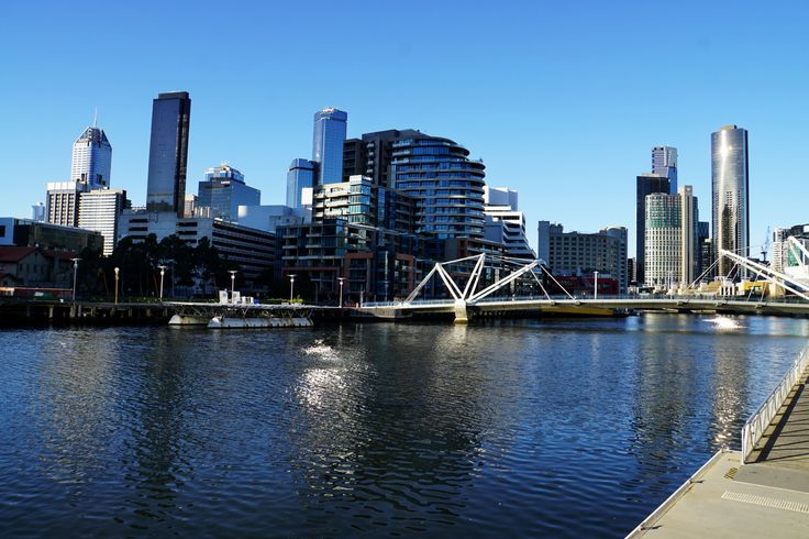 """Yarra River"", South Wharf, Melbourne"