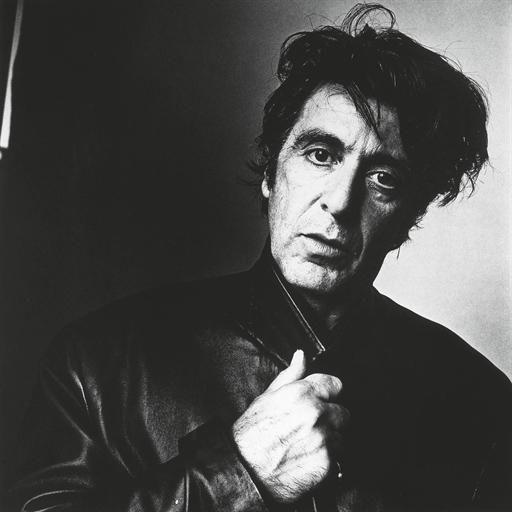 Irving Penn, Al Pacino (2), New York, October 20, 1995