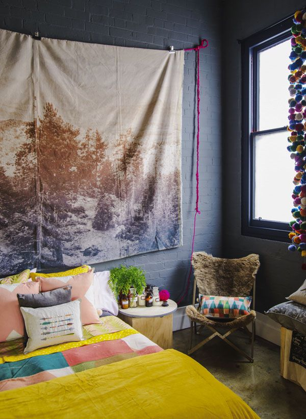 that quilt.  the woodsfolk shop in melbourne. photo by brooke holm