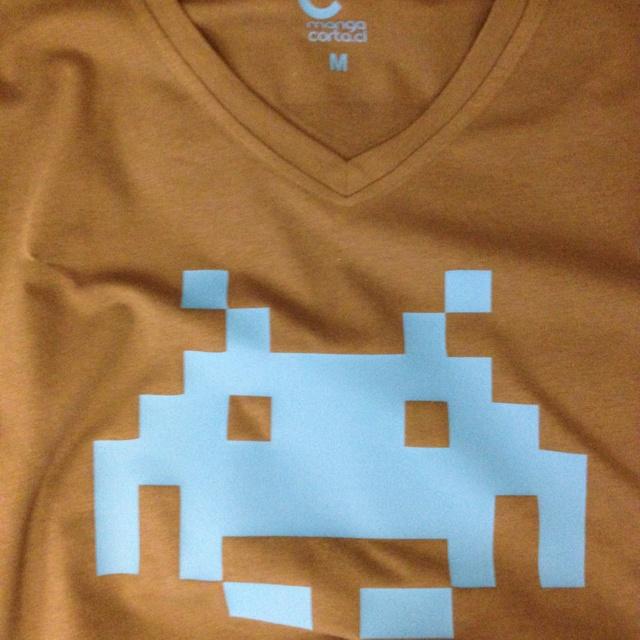 Space invaders. Sólo en www.mangacorta.cl
