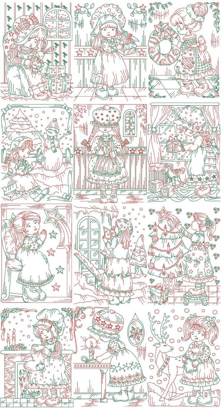 41 best western embroidery designs and appliques images on charming red and green sue machine embroidery designs by sew swell bankloansurffo Gallery