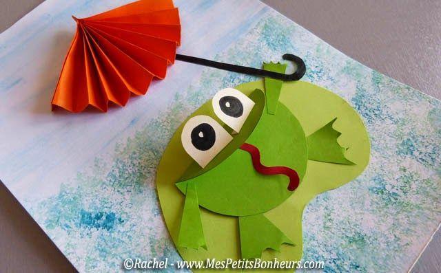 free frog craft idea for kids (2)  |   Crafts and Worksheets for Preschool,Toddler and Kindergarten
