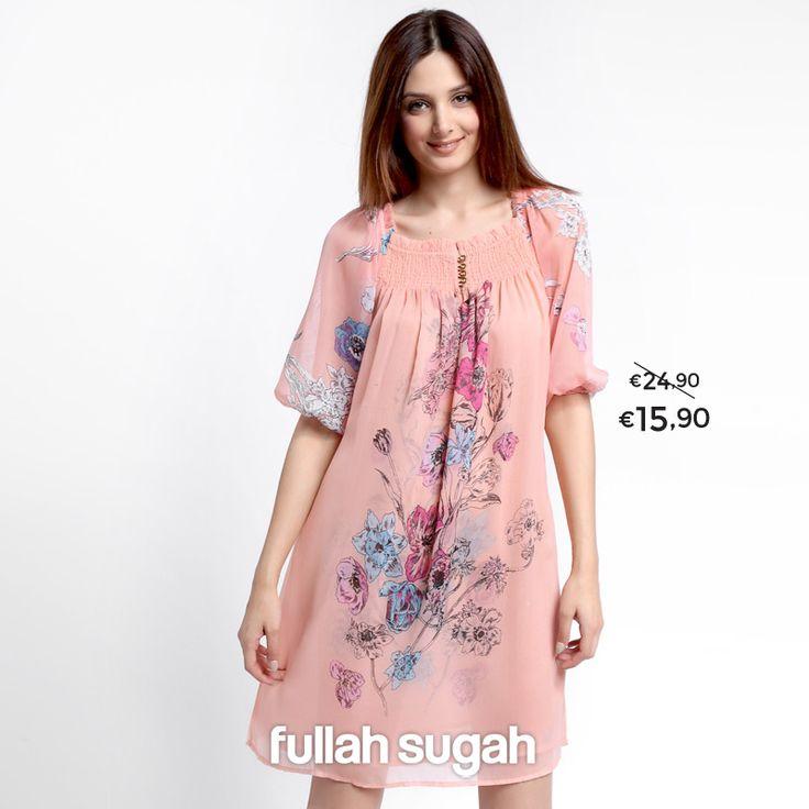 Summer Sales! Φλόραλ τουνίκ φόρεμα   Από €24.90 τώρα €15.90 Shop now : http://bit.ly/1r4FFd7  #sales #fashion #dresses
