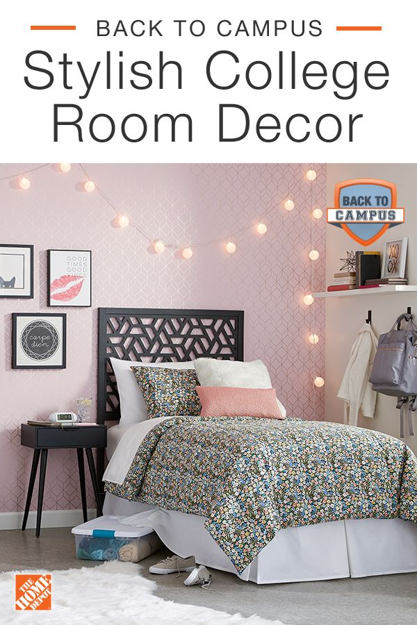 Stylish College Room Decor College Room Decor Girl Bedroom Decor Home Decor Bedroom