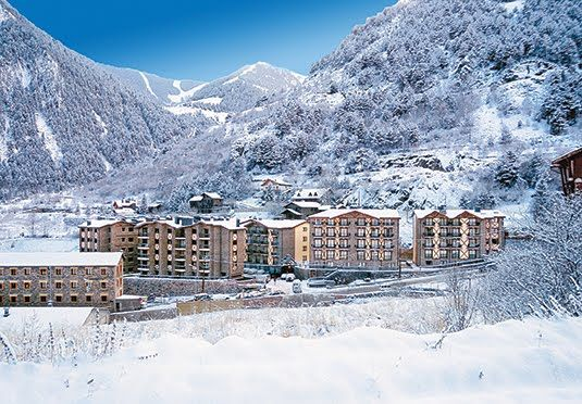 A seven-night ski holiday in Andorra, with all dining, drinks, spa access, equipment hire, lift passes and travel