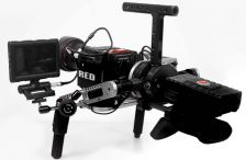 The GimbalGunner; a hybrid brushless gimbal/shoulder rig stabilizer