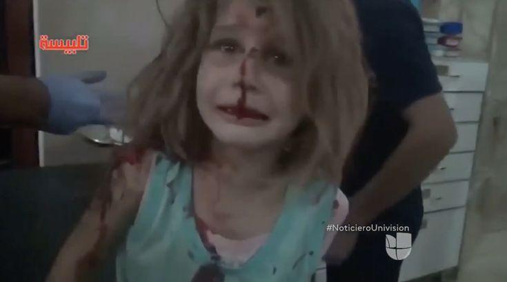 Esta niña llorando ha conmovido a todo el mundo. Entérate cual es la razón de su llanto