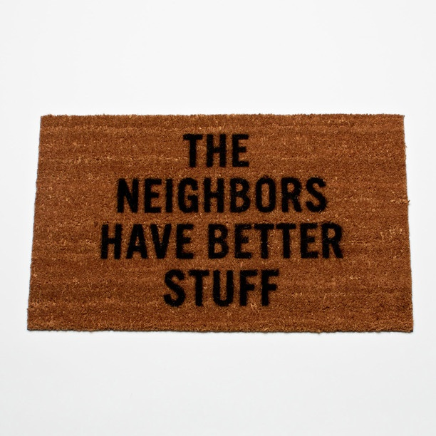 Burglary defense mat...