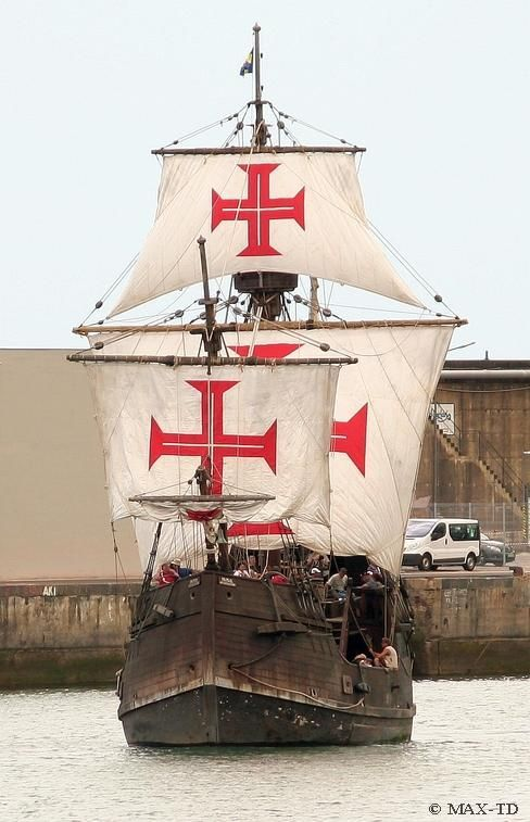 The Ship Santa Maria in Funchal, Madeira.