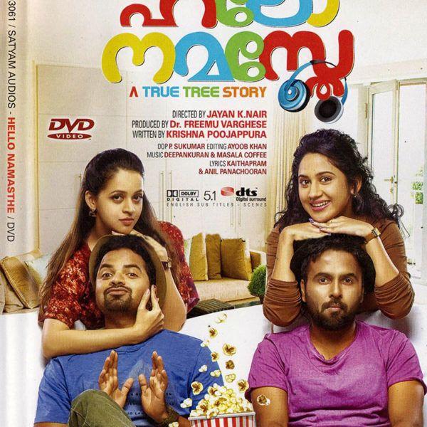 Hello Namasthe DVD Vinay Forrt, Bhavana, Sanju Sivram, Miya, Aju Varghese, Mukesh