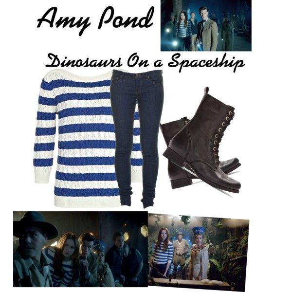 Dinosaurs on a spaceship Amy Pond