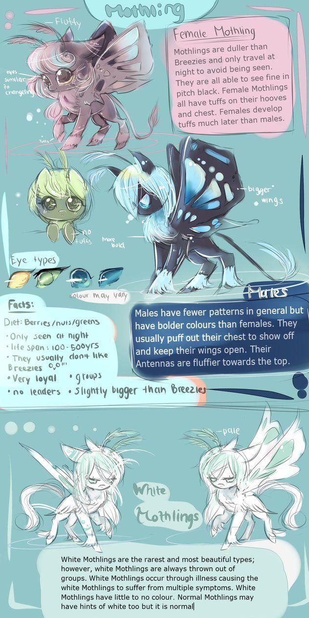 Mothling Species (MLP) by AquaGalaxy on deviantART