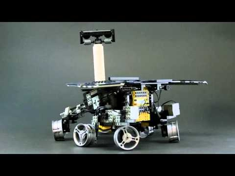 Lego Spirit - Amazingly like the real thing. Learn more at http://en.wikipedia.org/wiki/Spirit_rover
