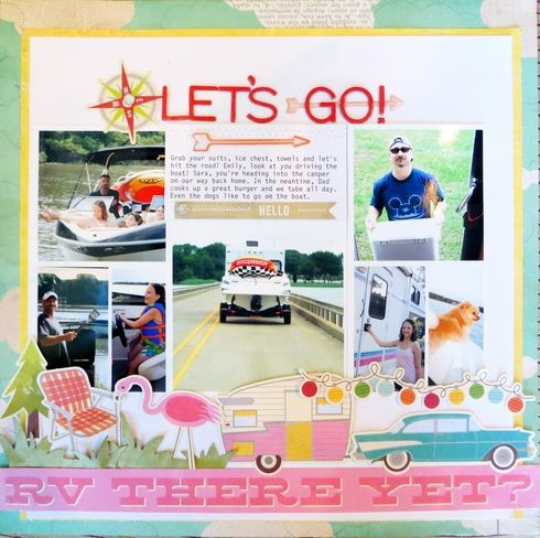 Let's Go! Layout by Melissa S.