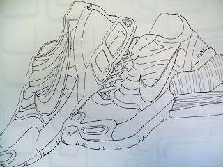 Contour Line Drawing Shoes Lesson Plan : 14 best contour shoes images on pinterest art lessons